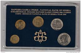 Serbia 2006.  Official Mint Set Of The National Bank Of Serbia Coin Set , Nikola Tesla - Serbia