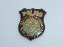 Pin's POLICE U.S.A. - Police