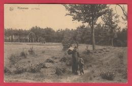 Rijmenam - La Plaine ..vrouw ... Kind - 1924 ( Verso Zien ) - Bonheiden