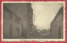 Denderbelle - Gemeentehuis En Doorplaats ( Verso Zien ) - Lebbeke