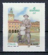 Italien '60 J. Granarolo, Milchverkäufer Mit Fahrrad' / Italy '60th Ann. Of Granarolo, Milkman With Bicycle' **/MNH 2017 - Alimentation