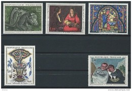 "FR YT 1478 1479 1492 à 1494 "" Oeuvres D'Art "" 1966 Neuf** - France"