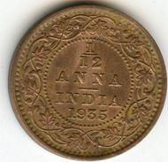 Inde India 1/12 Anna 1935 KM 509 - India
