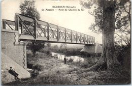 34 - SAUSSAN -- La Mosson --  Pont  Du Chemin De Fer - Francia