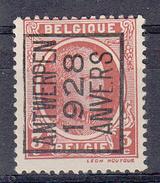 BELGIË - PREO - 1928 - Nr 165 A - ANTWERPEN 1928 ANVERS - (*) - Préoblitérés