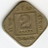 Inde India 2 Anna 1918 B KM 516 - India