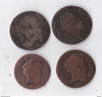 LOT DE 4 MONNAIES ROYALE USEE LOT 008 - Coins & Banknotes