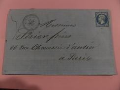 16.12.17-LAC , Cachet Perlée De Mitry-Mory  (73),GC 2373 Refait N°22,piquage - Postmark Collection (Covers)