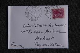 Lettre D'ITALIE (NAPOLI) Vers AULNAT (63) - 6. 1946-.. Repubblica