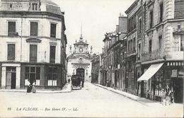 La Flèche (Sarthe) - Rue Henri IV - Carte LL N° 19 Non Circulée - La Fleche