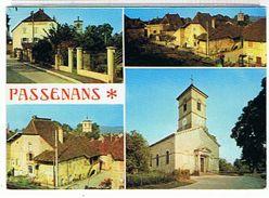39..PASSENANS - 3VUES + CAFE     DES    CENTRE   TTBE - Autres Communes
