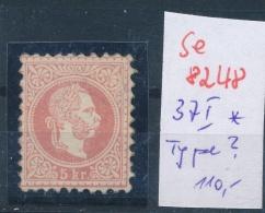 Österreich Nr.  37  I   *  (se8248 ) Siehe Bild - 1850-1918 Empire