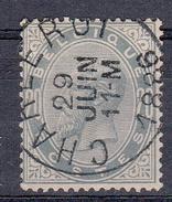 BELGIË - OBP - 1883 - Nr 39 (CHARLEROY) - 1883 Léopold II