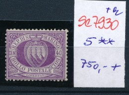 San Marino Nr. 5 **    (se7930   ) Siehe Bild - Nuovi
