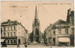 """Cureghem Anderlecht, L'Eglise De Cureghem, Sur Le Coin, Magasin """"Au Fabricant De Verviers""""  (pk41293) - Anderlecht"""