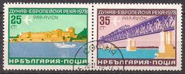 Bulgarien  (1978)  Mi.Nr.  2652 + 2653  Gest. / Used  (19ev20) - Gebraucht