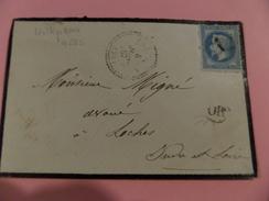 16.12.17-LSC  , Perlée De Villepreux, (72),GC 4265 Superbe!! Sur N°29 Variété - Postmark Collection (Covers)