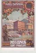 Pallanza - Hotel Simplon      (A-62-160806) - Verbania