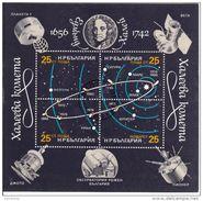 3153 Bulgaria 1986 Cometa Di Halley Comet Sheet Perf. - FDC & Commemoratives