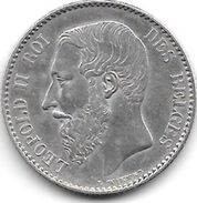 *belguim 1 Franc  Leopold II  1886 /66 French  Xf - Pr !!!! - 1865-1909: Leopold II
