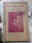 Tes Yeux Noirs- Par VALIES - Song Books