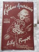 Lily Fayol Le Rythme Américain - Song Books