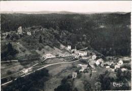 PIERRE-PERCEE .54. Vue Aerienne .village .chateau. Ecrite 1961. - Francia