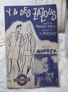 Y A DES ZAZOUS - Song Books