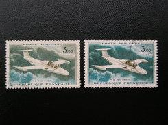 39-39a  Variété De Couleurs - Abarten: 1960-69 Gebraucht