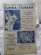 RUMBA _ TAMBAH - Song Books