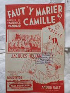 FAUT'Y MARIER CAMILLE - Song Books