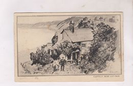 CPA DEVON,CLOVLLY , ROSE COTTAGE (voir Timbre) - Clovelly
