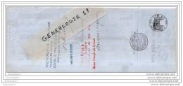 76 250 ROUEN 1872 Maison J.F MORIN Succ ALFRED MORIN Tampon DAMARS ˆ DREUX Et  MORICE ˆ VERNEUIL Et  J. LE P - Lettres De Change