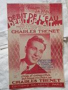 CHARLES TRENET - Débit De L'eau Débit De Lait - Song Books