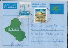 IRAQ - AEROGRAMMA RACCOMANDATO 1996 - Iraq