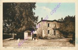 07. ECLASSAN . Le Monument Aux Morts De La Grande Guerre à L'ombre De Sully . - France