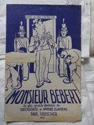 MONSIEUR BEBERT - Song Books