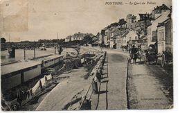 Pontoise......le Quai De Potbuis....voir Scan Pliures Aux Angles..timbre Enleve... - Pontoise