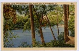 WAYNASBORO Antietan Creek Along Hagerstown - United States