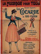 LA CONCARDE De MIMI-PINSON  -Operette De Maurice ORDONNEAU Et FRANCIS GALLY - Musique De HENRI GOUBLIER Fils - Spartiti