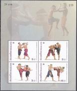Thailand Siam 2003 Sport Spiele Kampfsport Thai-Boxen Kultur Kulturerbe Tradition Brauchtum, Bl. 168 ** - Thailand