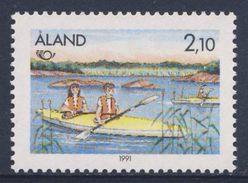 Aland 1991 Mi 51 YT 51 Sc 60 ** - Holiday With Canoe / Vacances Avec Canoe / Urlaub Mit Kanu - Tourism - Vakantie & Toerisme