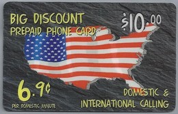 PHONECARD.- TWC DIRECT. DOMESTIC & INTERNATIONAL CALLING. BIG DISCOUNT PREPAID PHONE CARD. USCommunicationServices. 2 Sc - Telefoonkaarten