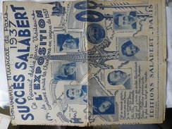 SUCCES SALABERT Recueil Dédié Aux Visiteurs De L'exposition 1937 - Song Books