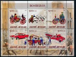 [402413]Guinée-Bissau 2005 - Pompier, Voitures - Bombero