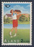 Aland 1995 Mi 102 YT 102 Sc 116 ** Golf + Castle Kastelholm – Tourism – NORDEN / Golfspielen, Schloss Kastelholm - Vakantie & Toerisme