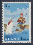 Aland 1995 Mi 103 YT 103 Sc 117 ** Sport Fishing - Tourism – NORDEN / Sportangeln - Tourismus - Vakantie & Toerisme