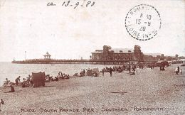 Angleterre - Portsmouth - Southsea - South Parade Pier 1920 - Portsmouth