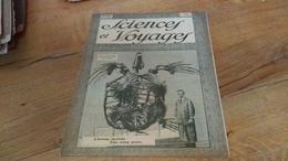 142/ SCIENCES ET VOYAGES N° 483 L ETRANGE SQUELETTE D UNE TORTUE GEANTE - 1900 - 1949