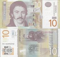 Serbia 2013 - 10 Dinars - Pick 54 UNC - Serbia
